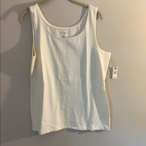 Talbots cotton modal tank